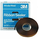 3M 08621 Window-Weld 5/16'' x 15' Round Ribbon Sealer Roll