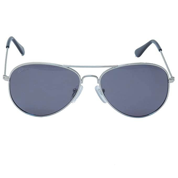 Gafas de Sol Knockaround Mile High Silver / Smoke Polarizada
