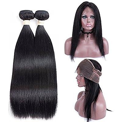 Allrun Hair Brazilian Virgin Hair Straight Wave 4 Bundles 7A Unprocessed Brazilian Straight Hair Natural Color Brazilian Hair Weave Bundles ?