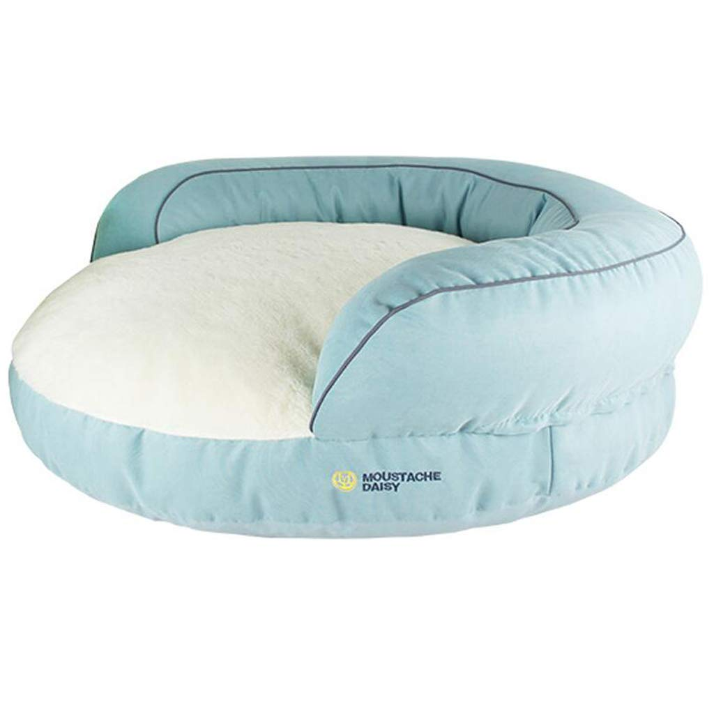 B S.28x20x65cm B S.28x20x65cm Jlxl Four Season Dog Bed, Pp Cotton Dog Mat Sofa Type Pillow Non-slip For Washable Odorless Easy To Clean Warm Kennel (color   B, Size   S.28x20x65cm)