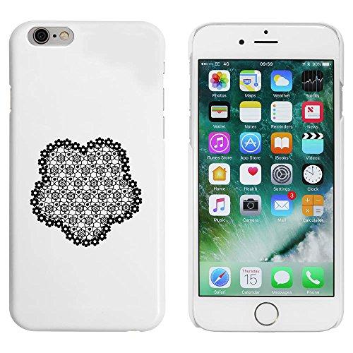 Blanc 'Fleur de Dentelle' étui / housse pour iPhone 6 & 6s (MC00028742)