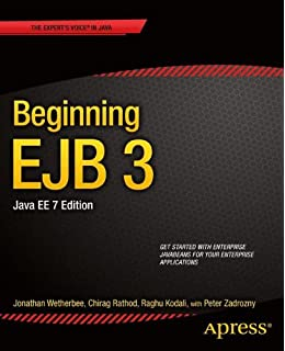 Beginning EJB 3: Java EE 7 Edition  Beginning Apress  available at Amazon for Rs.2883.9