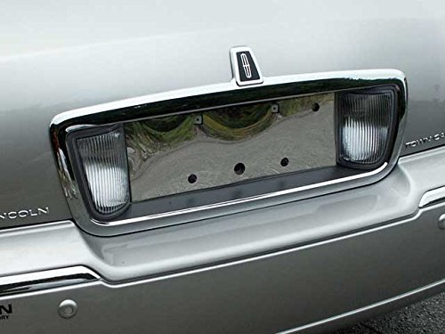 - QAA FITS TOWN CAR 2003-2007 LINCOLN (1 Pc: Stainless Steel License Plate Bezel, 4-door) LP43680