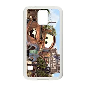 SamSung Galaxy S5 phone cases White Disney Cars and Mater cell phone cases Beautiful gifts JUW80001413