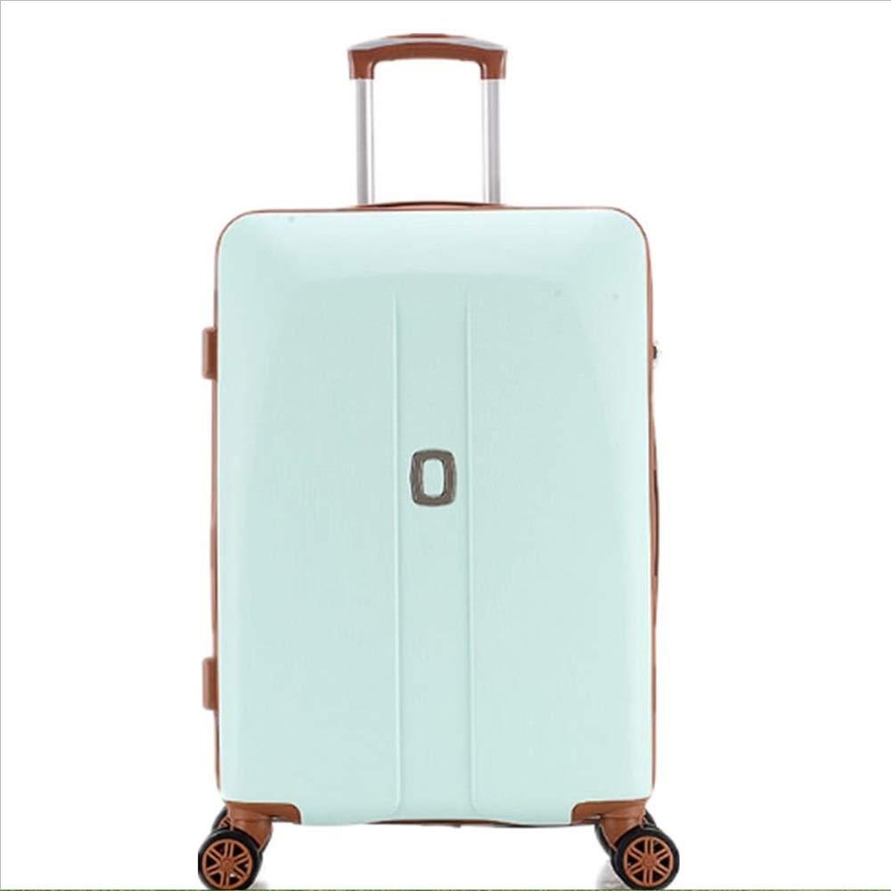 荷物ケース, スーツケース, トロリーカートトラベル手荷物バッグパスワードボックスユニバーサルホイールスーツケース20 22 24 26インチピンクガール学生 荷物エアボックススーツケース (サイズ : 24) B07SPSH4QG  24