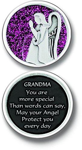 Cathedral Art PT667 Grandma Angel Companion Coin, 1-1/4-Inch