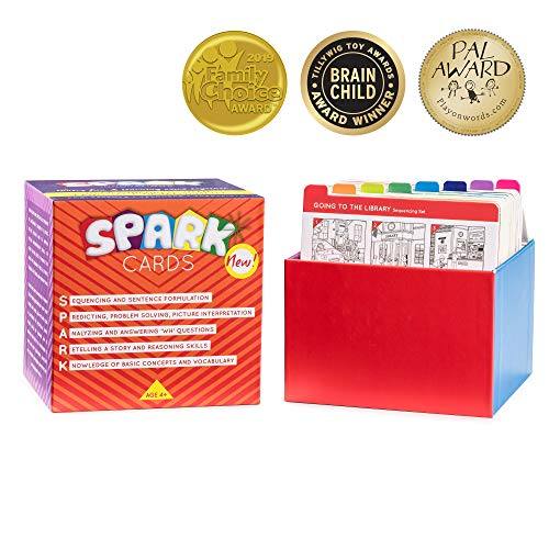 Sequencing Cards for Storytelling and Picture Interpretation Speech Therapy Game, Special Education Materials, Sentence Building, Problem Solving, Improve Language Skills Box #1