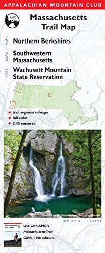 AMC Massachusetts Trail Maps 1-3: Northern Berkshires, Southwestern Massachusetts, and Wachusett Mountain State Reservation (Appalachian Mountain Club Trail Map) ()
