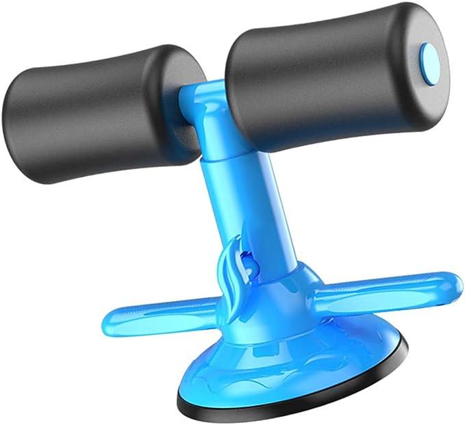 BESPORTBLE Aparelho de assistente de abdominais com ventosa de sucção, portátil e ajustável para pés sentados para exercícios em casa e exercícios por BESPORTBLE