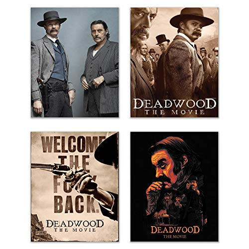 Deadwood Movie 2019 Posters - Set of Four (8x10) Prints