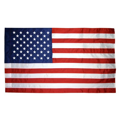 (3 X 5 FT US American Flag Pole Sleeve Banner Style Highest)