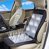 wowobjects 12V Car Breathable Autoson Summer Cooler Seat Cushion Cover with Fan