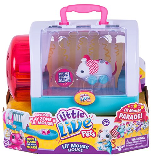 Little Live Pets Lil' Mouse House - Chef Twitchy
