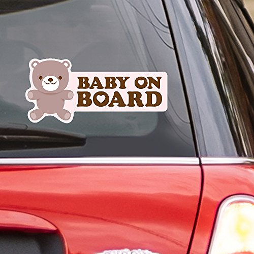 teddy bear window decal - 6