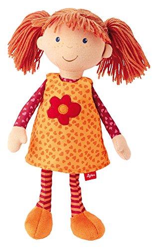Sigikid Dolls - Sigikid 32 x 10 x 7cm Puppen Sigi Doll, Orange/Pink