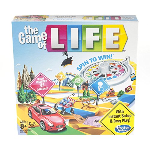 The Game of Life Board Game Ages 8 & Up (Amazon Exclusive) ()