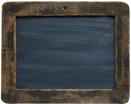 "Framed Blackboard - 9-1/2"" Primitive Country Rustic Chalkboa"