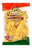 Mayte Plantain Chips Platanitos Real Plantain Strips Cooked In Palm Oil, Light Salted, 100% Natural 0g Trans Fat Big Bag of 12.35 oz