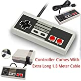 Game Pad Joystick Per Nintendo Mini Classic NES JOYPAD VIENE Con Estesa 1,8 M CAVO LUNGO By AirBot