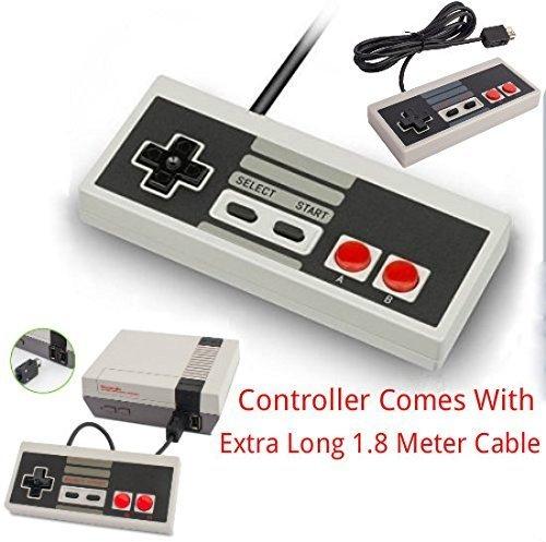 11 opinioni per Game Pad Joystick Per Nintendo Mini Classic NES JOYPAD VIENE Con Estesa 1,8 M