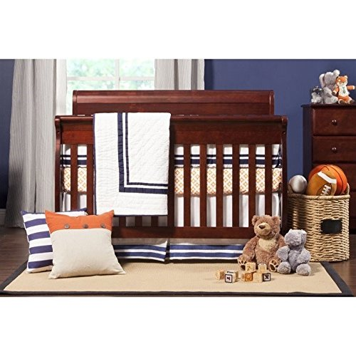 DaVinci Kalani 4-In-1 Convertible Crib, Rich Cherry Red Convertible Crib