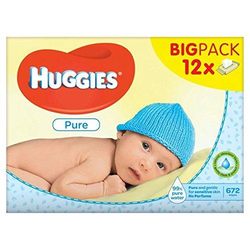 Huggies Pure Wipes Big Pack 12 x 64 por paquete: Amazon.es: Alimentación y bebidas