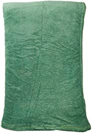 Manta Dyuri Lisa, Poliéster, King, Verde Floresta, Jolitex