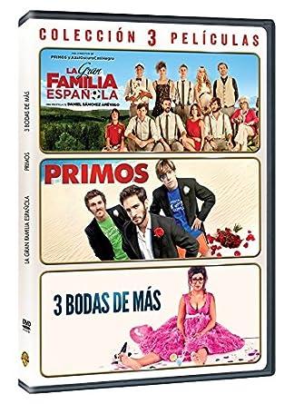 Pack Quim Gutierrez: Primos + La Gran Familia Española + 3 Bodas ...