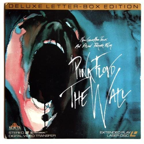 Pink Floyd The Wall Extended Play Laserdisc (Laser Play)