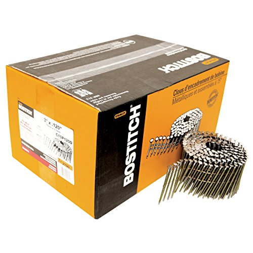 Stanley Bostitch C6P99D 2-Inch Coil Nail 3600-Pack