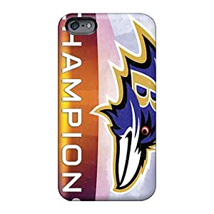 Scratch Resistant Hard Phone Cases For Apple Iphone 6 (xhX6260iaYj) Support Personal Customs High Resolution Baltimore Ravens Image