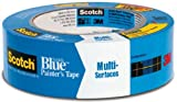 ScotchBlue Painter's Tape for Multi-Surfaces, 1.5-Inch by 60-Yard, 4-Roll