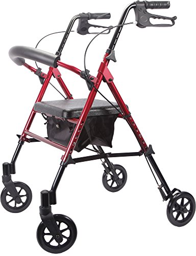 Viverity Deluxe Adjustable Aluminum Rollator product image