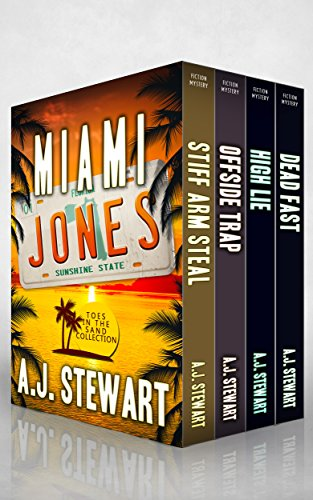 Miami Jones Florida Mystery Series Box Set - Books 1-4: Toes in the Sand Collection (Miami Jones Omnibus Book 1) (Best Places In Miami)