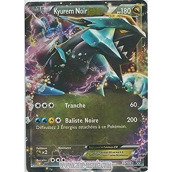 Carte Pokémon Kyurem Noir Ex Holo Reverse 95 135 N B Tempete
