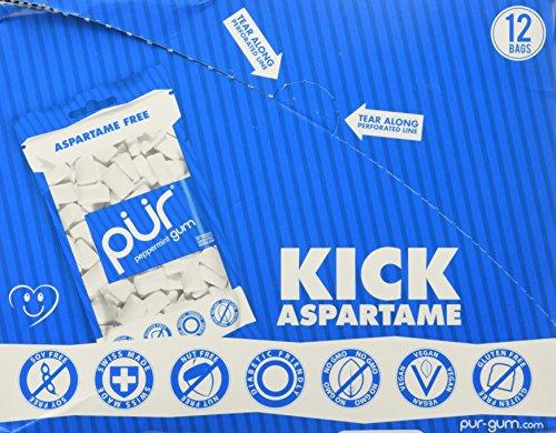 Pur Gum, Peppermint, 2.82-ounce (12 Pouches)