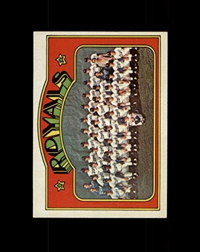 - 1972 Topps Baseball #617 Kansas City Royals TC STARX 7 NM CS38587