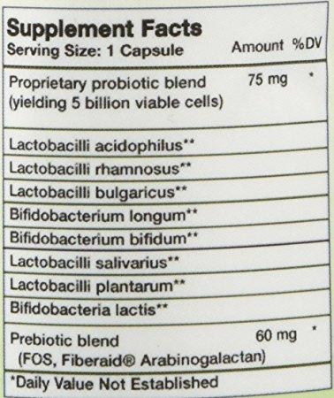 Vitabase Suprema Dophilus Multi Probiotic Digestive Supplement 60 Capsules (Pack of 6)