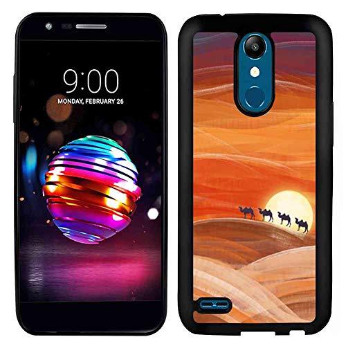 Desert Painting LG K10 Soft TPU Phone Case (2017) 5.3-Inch