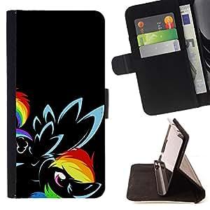 Jordan Colourful Shop - flower black rainbow eye bird For Sony Xperia Z2 D6502 - Leather Case Absorci???¡¯???€????€????????&cen