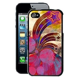 Retro Stars iPhone 4/4S Case (Black)