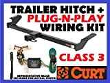 TRAILER HITCH + WIRING FITS: 2000 CHEVY GMC YUKON XL YUKON TAHOE SUBURBAN #13029