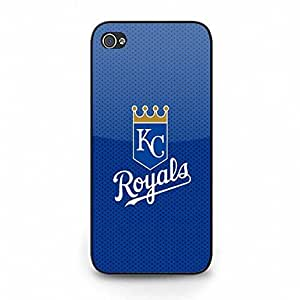 Style046 Attractive Series Kansas City Royals Image Baseball Team Mark Tough Case Cover for Iphone 4s / iphone 4s