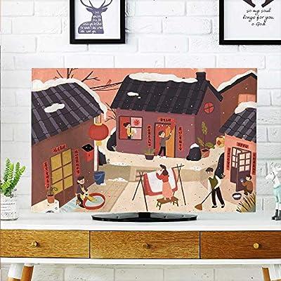 aolankaili - Sanghua para Proteger tu televisor (Ancho 19 x Alto ...