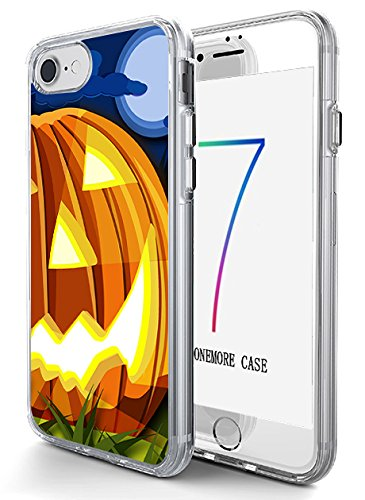 Hard Back Case Cover Shell for iPhone 8 / iPhone 7 4.7 Inch Big Pumpkin