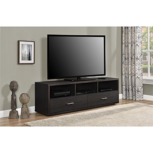 Ameriwood Home Clark TV Stand for TVs up to 70'', Espresso by Ameriwood Home (Image #10)
