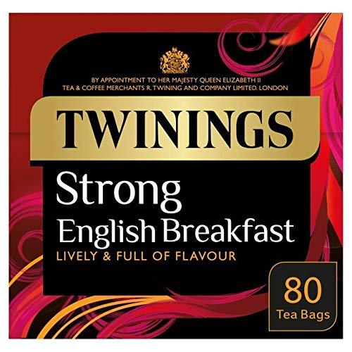 Twinings 1706 Te Fuerte Desayuno 80 Por Paqu