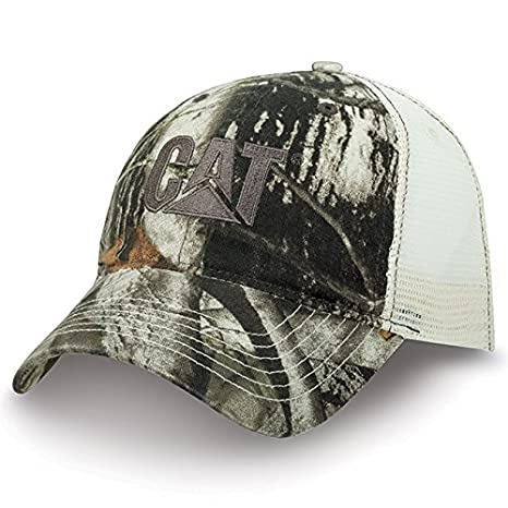 9ac9ff55c7d Amazon.com  BD A Caterpillar CAT Equipment Bio-Washed Next Camo Camouflage  Snapback Cap Hat  Sports   Outdoors