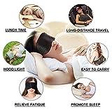 Silk Sleep Mask & Blindfold, Soft Eye Mask with
