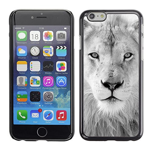 "Premio Sottile Slim Cassa Custodia Case Cover Shell // V00002703 Lion blanc // Apple iPhone 6 6S 6G PLUS 5.5"""